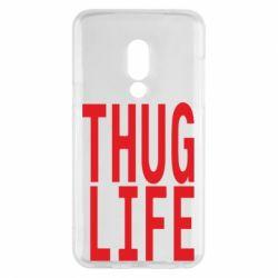 Чехол для Meizu 15 thug life - FatLine