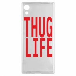 Чехол для Sony Xperia XA1 thug life - FatLine