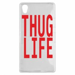 Чехол для Sony Xperia Z1 thug life - FatLine