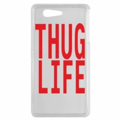 Чехол для Sony Xperia Z3 mini thug life - FatLine