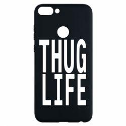 Чехол для Huawei P Smart thug life - FatLine