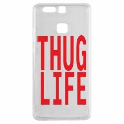 Чехол для Huawei P9 thug life - FatLine