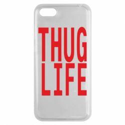 Чехол для Huawei Y5 2018 thug life - FatLine