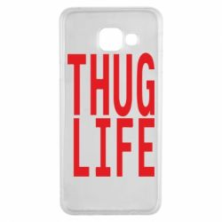 Чехол для Samsung A3 2016 thug life
