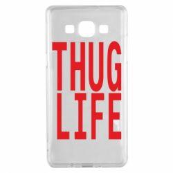 Чехол для Samsung A5 2015 thug life