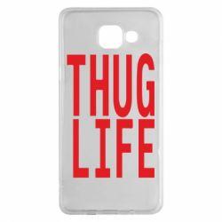 Чехол для Samsung A5 2016 thug life