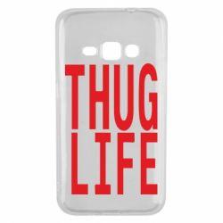 Чехол для Samsung J1 2016 thug life