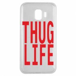 Чехол для Samsung J2 2018 thug life