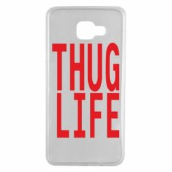 Чехол для Samsung A7 2016 thug life