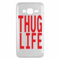 Чехол для Samsung J3 2016 thug life