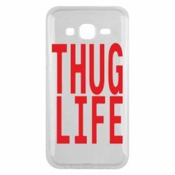 Чехол для Samsung J5 2015 thug life