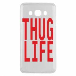 Чехол для Samsung J5 2016 thug life