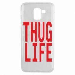 Чехол для Samsung J6 thug life