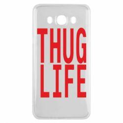 Чехол для Samsung J7 2016 thug life