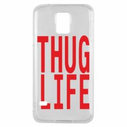 Чехол для Samsung S5 thug life