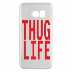 Чехол для Samsung S6 EDGE thug life