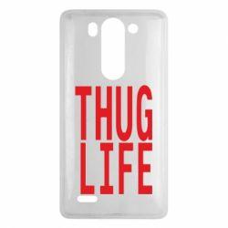 Чехол для LG G3 mini/G3s thug life - FatLine
