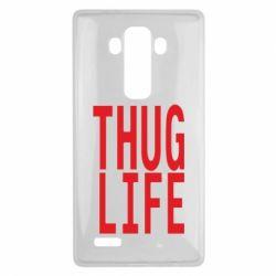 Чехол для LG G4 thug life - FatLine