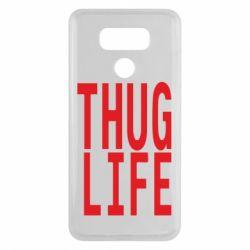 Чехол для LG G6 thug life - FatLine