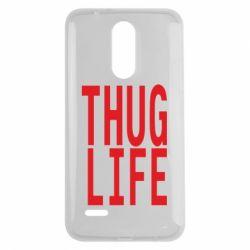 Чехол для LG K7 2017 thug life - FatLine