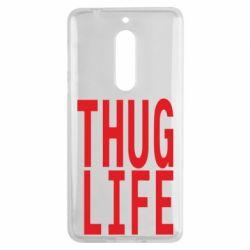 Чехол для Nokia 5 thug life - FatLine