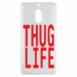 Чехол для Nokia 6 thug life - FatLine
