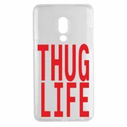 Чехол для Meizu 15 Plus thug life - FatLine