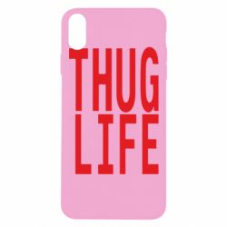 Чехол для iPhone Xs Max thug life