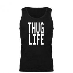 Майка чоловіча thug life - FatLine
