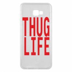 Чехол для Samsung J4 Plus 2018 thug life