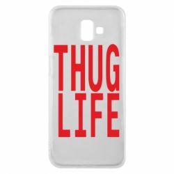 Чехол для Samsung J6 Plus 2018 thug life