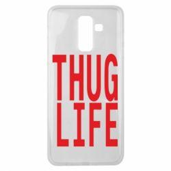 Чехол для Samsung J8 2018 thug life