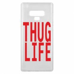 Чехол для Samsung Note 9 thug life