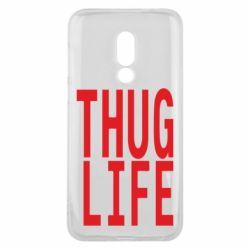Чехол для Meizu 16 thug life - FatLine