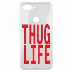 Чехол для Xiaomi Mi8 Lite thug life