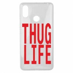 Чехол для Xiaomi Mi Max 3 thug life