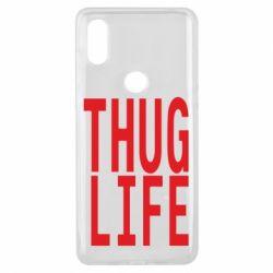 Чехол для Xiaomi Mi Mix 3 thug life