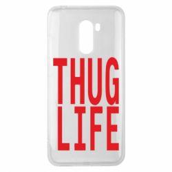 Чехол для Xiaomi Pocophone F1 thug life - FatLine
