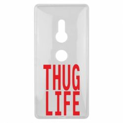 Чехол для Sony Xperia XZ2 thug life - FatLine