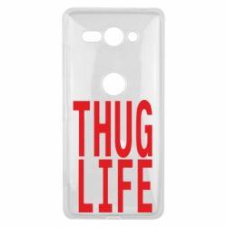 Чехол для Sony Xperia XZ2 Compact thug life - FatLine