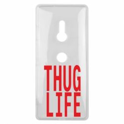 Чехол для Sony Xperia XZ3 thug life - FatLine
