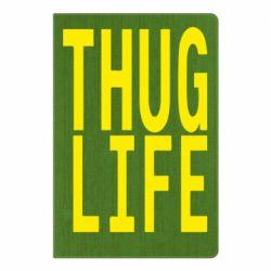 Блокнот А5 thug life