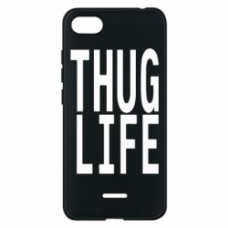 Чехол для Xiaomi Redmi 6A thug life - FatLine