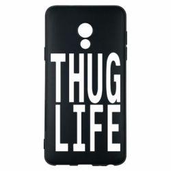Чехол для Meizu 15 Lite thug life - FatLine