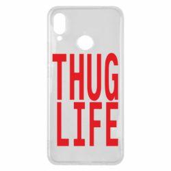 Чехол для Huawei P Smart Plus thug life - FatLine