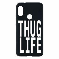 Чехол для Mi A2 Lite thug life - FatLine