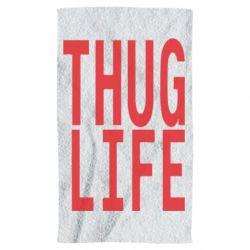 Полотенце thug life