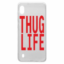 Чехол для Samsung A10 thug life