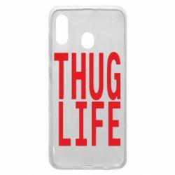 Чехол для Samsung A20 thug life