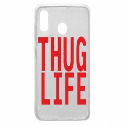 Чехол для Samsung A30 thug life